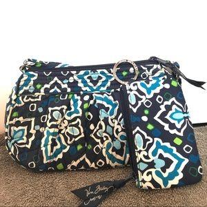 Vera Bradley blue bag